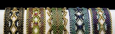 Glenwood Bracelet color choices